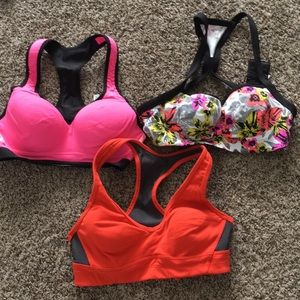 3 Victoria secret sports bras